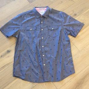 Tommy Bahama island modern fit palm tree shirt
